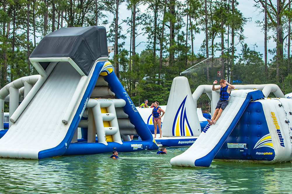 Wild Isle Inflatable Slides